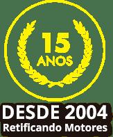 desde 2004 retificando motores